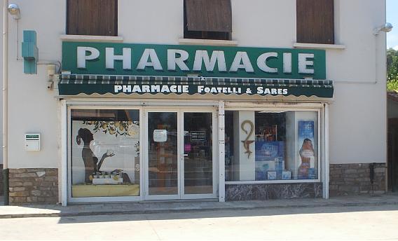 enseigne pharmacie Foatelli-Sares